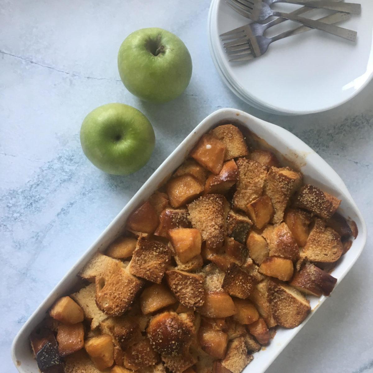 ברד פודינג תפוח בדבש