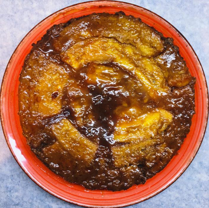 עוגת טופי בננה פקאן כשרה לפסח