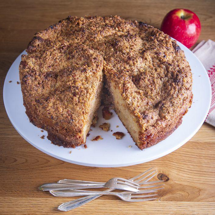 עוגת תפוחים בחושה מושלמת