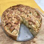פאי תפוחים הולנדי עם רוטב טופי מושלם