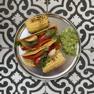 ארוחה מקסיקנית בגריל