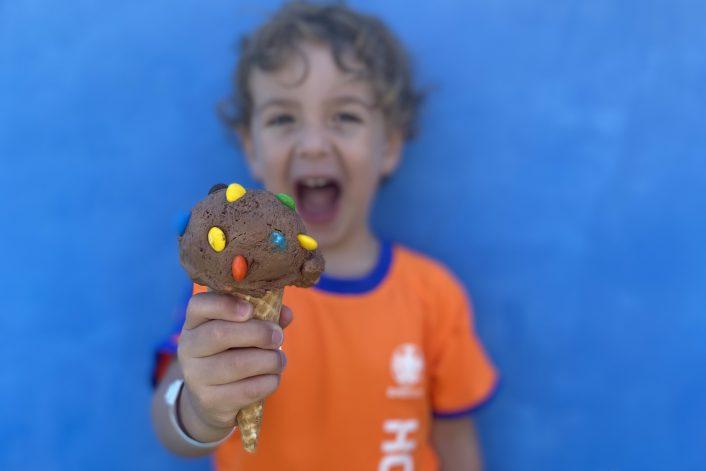גלידת שוקולד מושלמת - ללא מכונת גלידה